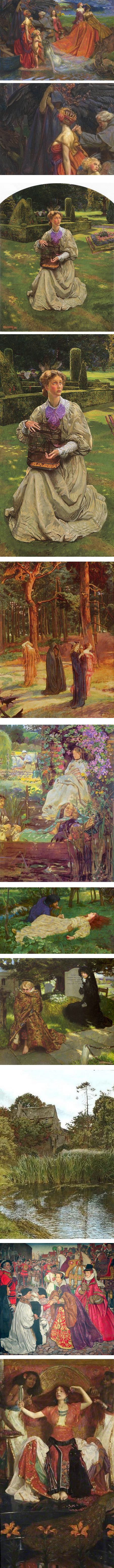 John Byam Liston Shaw, Victorian painter in the Pre-Raphaelite tradition