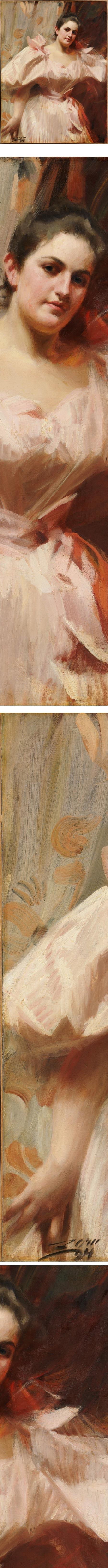 Portrait of Frieda Schiff, Anders Zorn