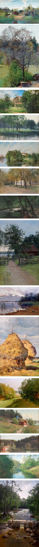 Sven Alfred Thorne, Swedish landscape painter