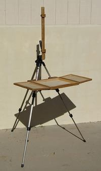 Coulter Easel, plein air easel