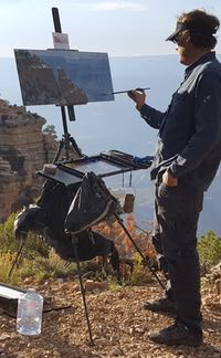 Daytripper plein air easel