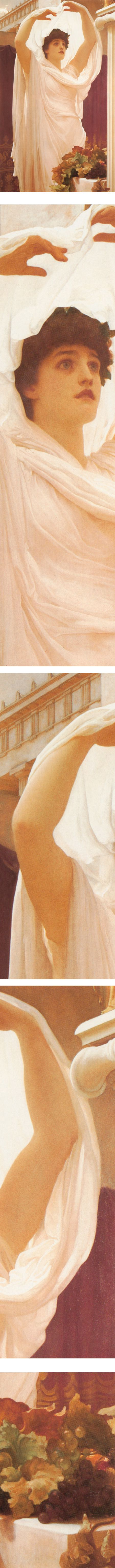 Invocation, oil painting by Frederic Leighton