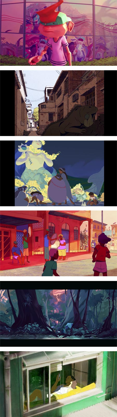 Gobelins students' animations for Annecy 2018