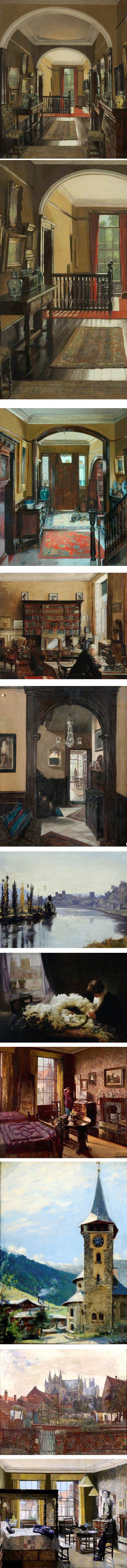 Mary Dawson Elwell, Britiah painter active late 19th early 20th century