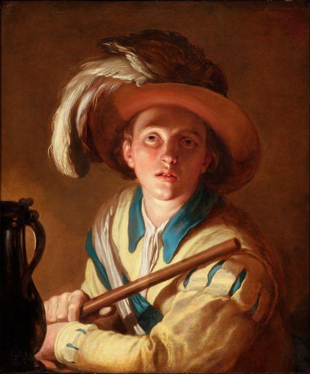 The Flute Player, Abraham Bloemaert