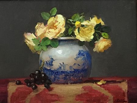 Elizabeth Robbins, still life and portraits