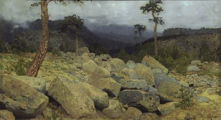 In the Crimean Mountains, Isaac Ilich Levitan