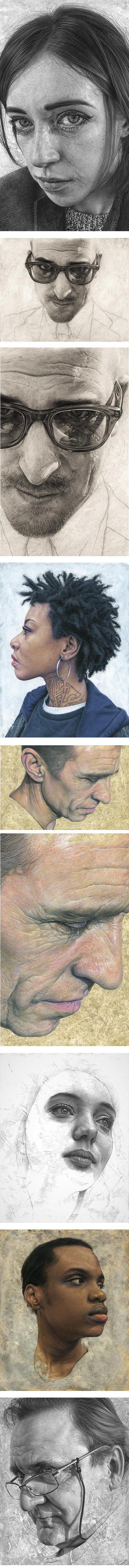 Steve Caldwell, portrait paintings