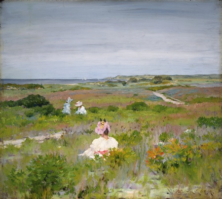 Landscape: Shinnecock, Long Island, William Merritt Chase