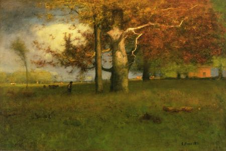 Early Autumn, Montclair, landscape painting by George Inness