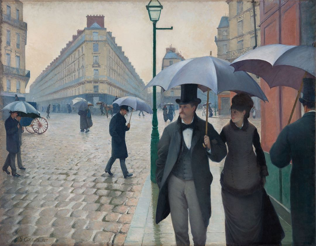 Art Institute of Chicago high-res art images, Gustave Caillebotte