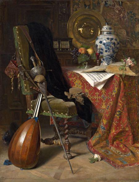 Seventeenth-Century Interior, Charles Gifford Dyer