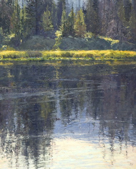 Skip Whitcomb, plein air landscape painting