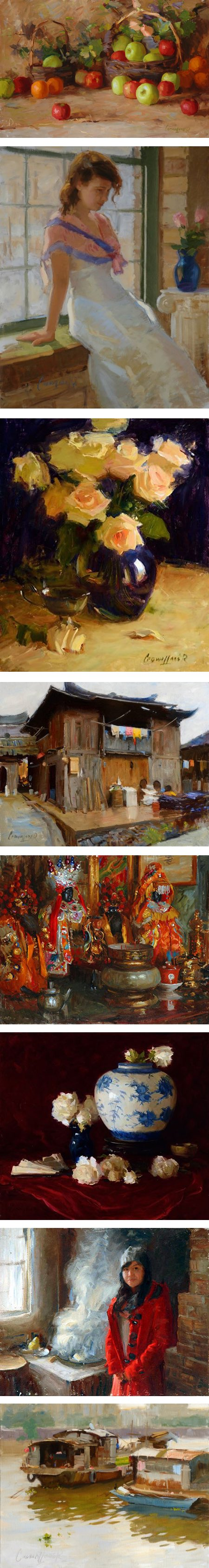 Kenneth Cadwallader paintings