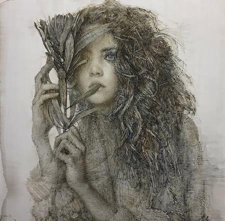 Daniel Blimes, oil painting