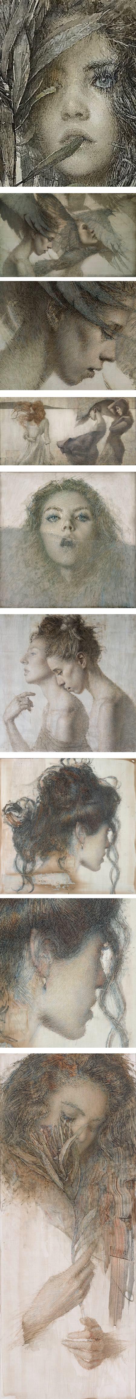 Daniel Blimes, oil paintings