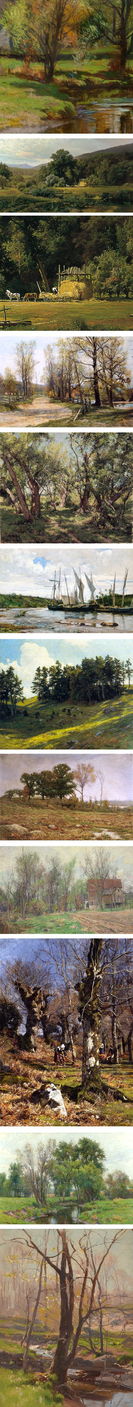 Hugh Bolton Jones lanscape paintings