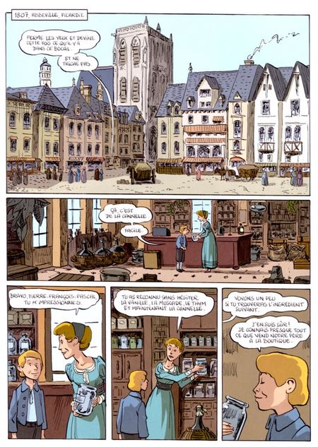 Li-An, French comics (bande-dessinees) and illustrations