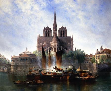 Notre-Dame de Paris, Edward Deakin