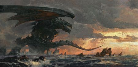 Greg Rutkowski, concept art, illustration, fantasy art, dragons, Magic: the Gathering