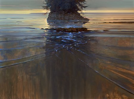 Brent Lynch, plein air and studio painting