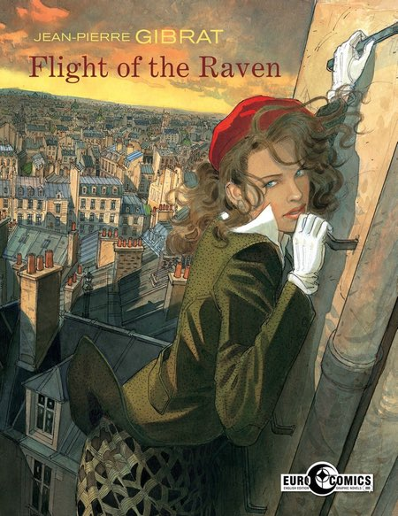 Jean-Pierre Gibrat, French comics artist, Flight of the Raven, bandes dessinées