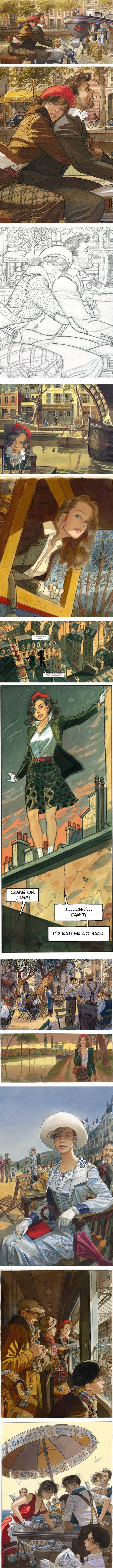 Jean-Pierre Gibrat, French comics artist, Flight of the Raven and others, bandes dessinées