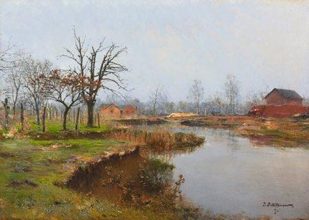 Ivan Pavlovich Pokhitonov, Ukrainian landscape painter