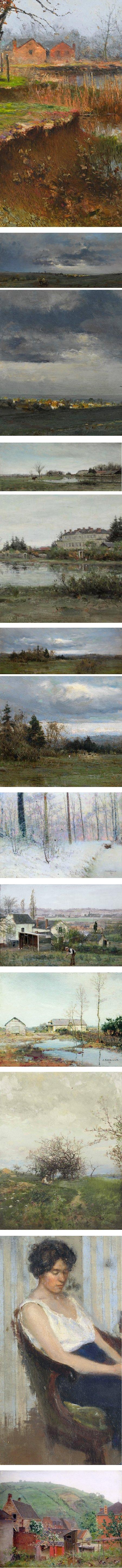 Ivan Pavlovich Pokhitonov, Russian landscape painter