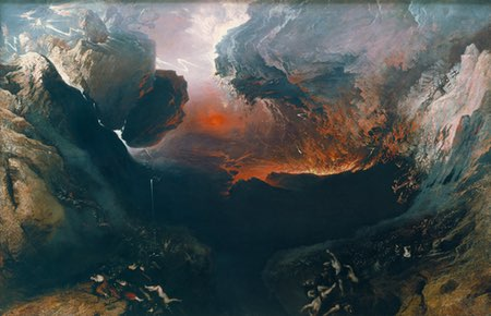The Great Day of His Wrath, John Martin