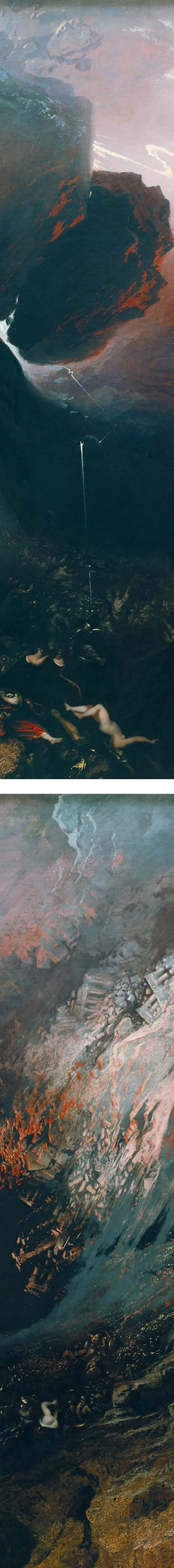 The Great Day of His Wrath, John Martin (details)