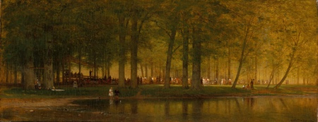The Camp Meeting, Worthington Whittredge
