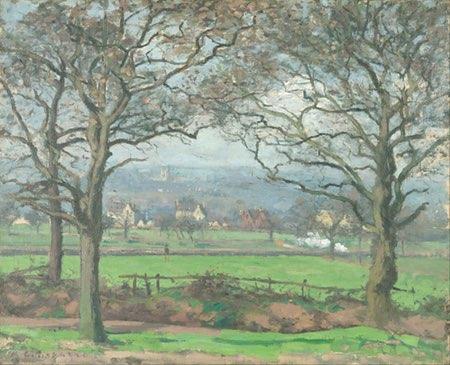 Near Sydenham Hill, Camille Pissarro