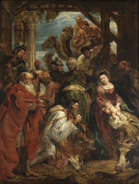 Adoration of the Magi, Peter Paul Rubens