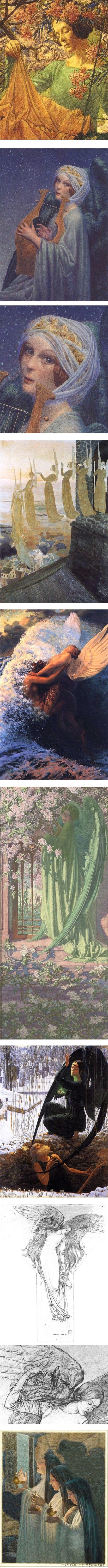 Carlos Schwabe, Symbolist painter