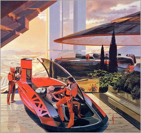 Syd Mead, futurist, concept artist, illustrator