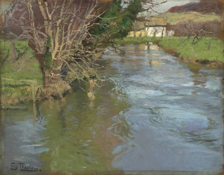 Frits Thaulow, A stream in spring