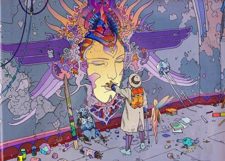 Jean (Moebius) Giraud illustration