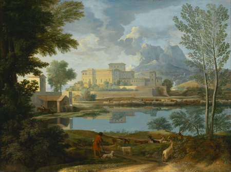 Landscape with a Calm, Nicolas Poussin
