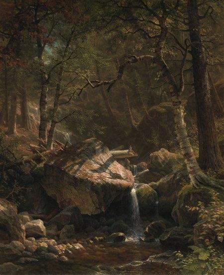 Ruisseau Mountain, Albert Bierstadt