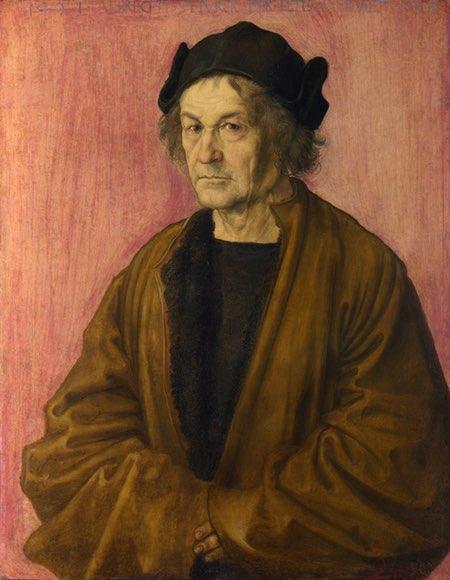 Portrait of the Artist's Father, Albecht Durer