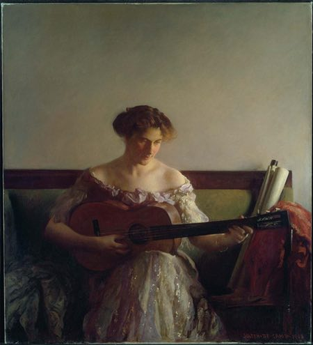 The Guitar Player, Joseph Rodefer DeCamp