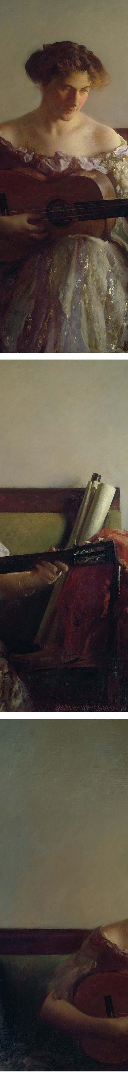 The Guitar Player, Joseph Rodefer DeCamp (details)
