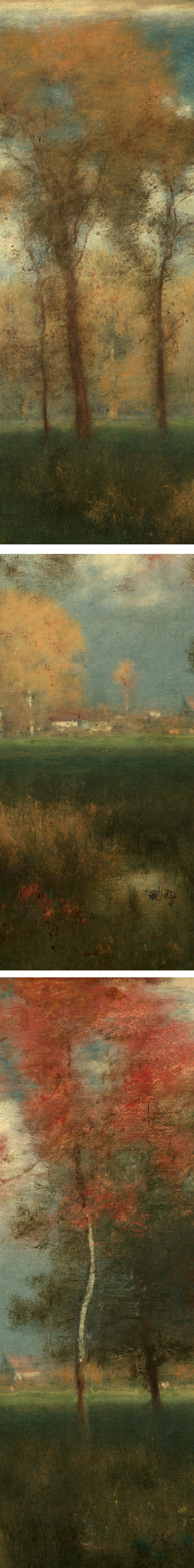 Sunny Autumn Day by George Inness (details)
