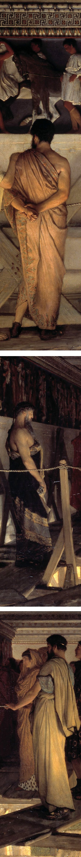 Pheidias and the Frieze of the Parthenon, Lawrence Alma-Tadema