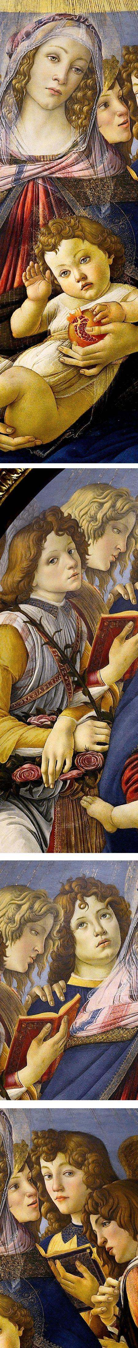 Madonna of the Pomegranate, Sandro Botticelli