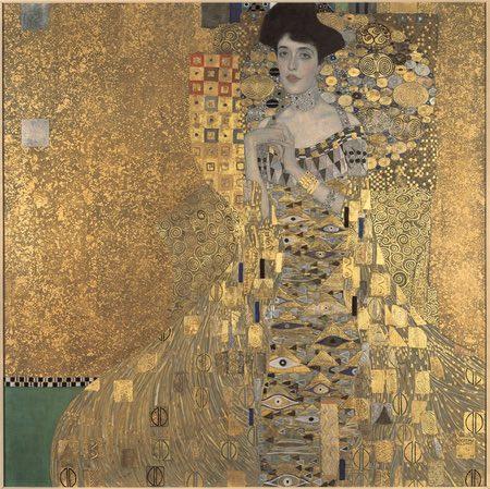 Portrait of Adele Bloch-Bauer, Gustav Klimt