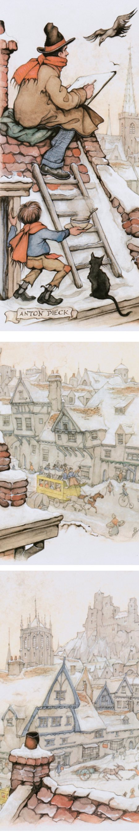 The Roof Painter, Anton Pieck