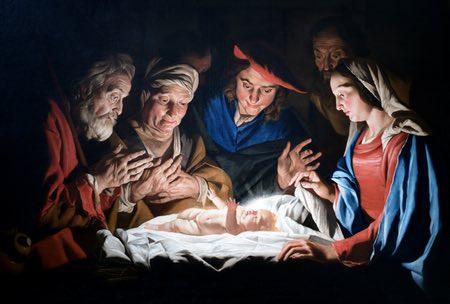 Adoration of the Shepherds, Matthias Stom (Stomer)