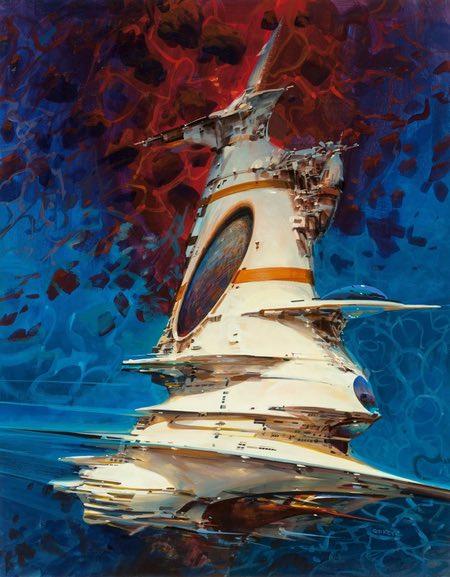 John Berkley spacecraft illustration